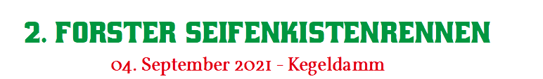 1. Forster Seifenkistenrennen